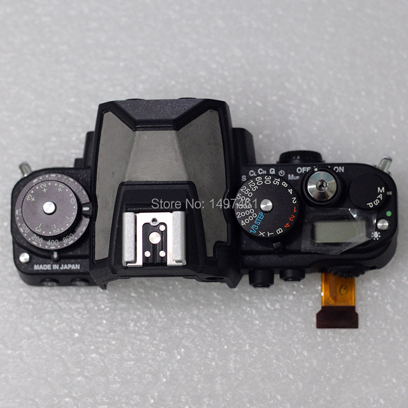 New Top cover assembly with Shoulder screen and buttons Without flash rubber repair parts for Nikon DF SLR top cover top case with flash board top lcd fpc unit for nikon d610 slr camera repair replacement part