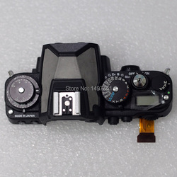New Top cover assembly with Shoulder screen and buttons Without flash rubber repair parts for Nikon DF SLR