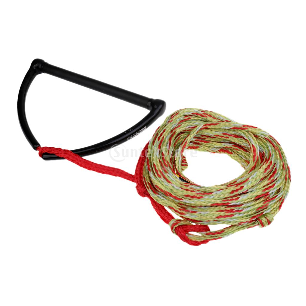 Safety 23m 75ft 2200lb 1 Section Water Ski Rope Tow Harness Leash Cord Line 15 EVA safety 23m 75ft 2200lb 1 section water ski rope tow harness leash