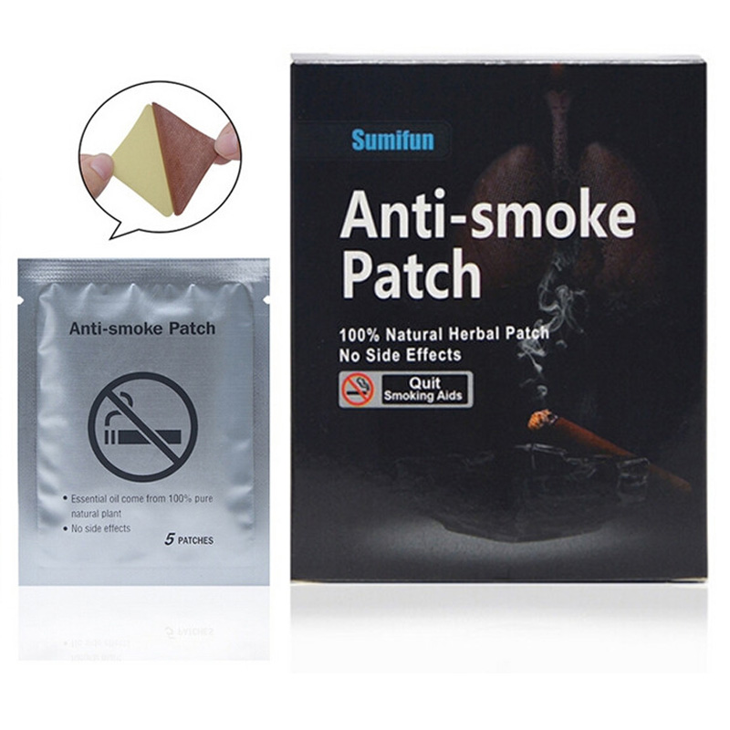 35pcs/lot Anti Smoke Stop 100% Natural Ingredient Smoking Patch for Smoking Cessation Patch Quit Smoking Patch Health Care