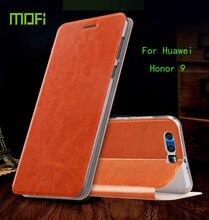 Для Huawei Honor 9 Дело MOFI Высокое Качество Флип Кожа PU Стенд чехол для Huawei Honor9 обложка книги Стиль сотовый телефон Крышка