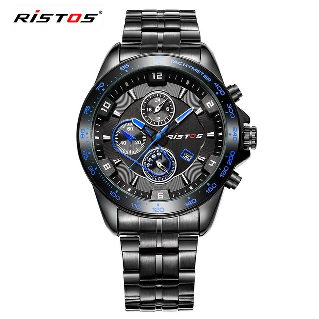 RISTOS Luxury Fashion Quality Military Sports Men Watch Classical G Elegant Style Shock Watches With 4 Colors relogio masculino