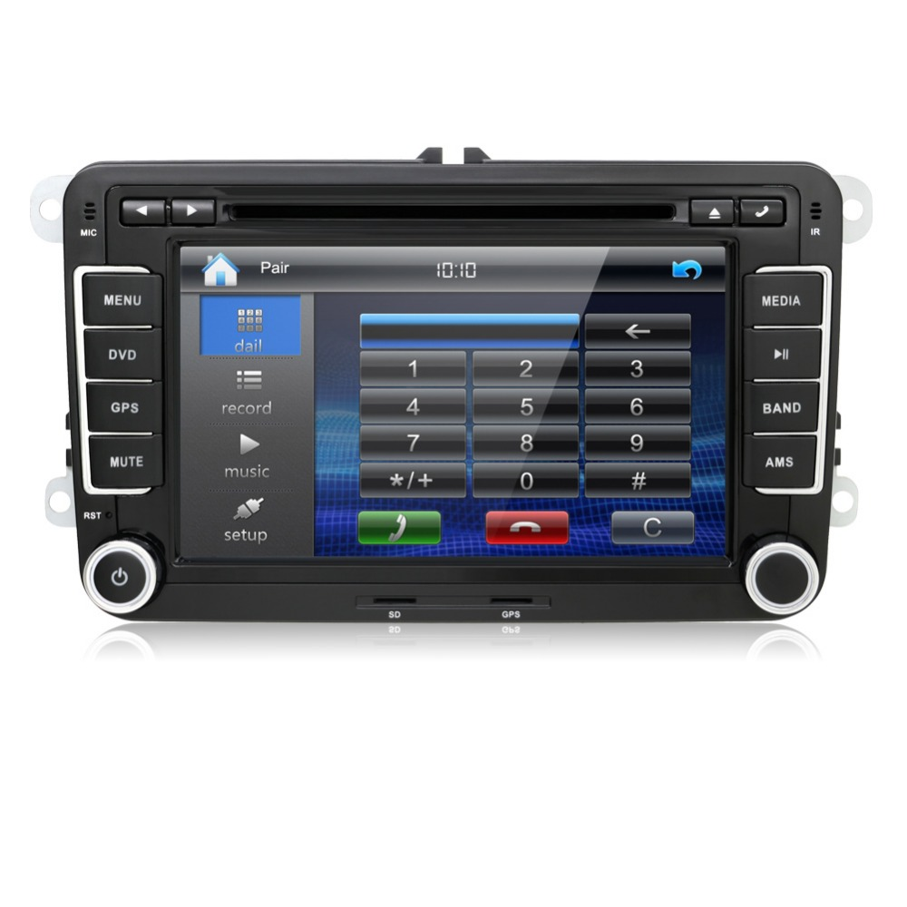 2 Din Car Dvd Player Pc Gps Navigation Stereo Video
