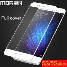 Xiao Mi 5S стекло Mofi 64 ГБ Сяо Mi 5S плюс защита экрана полное покрытие Сяо Mi 5 s фильма протектор Xiaomi Mi 5S плюс стекло