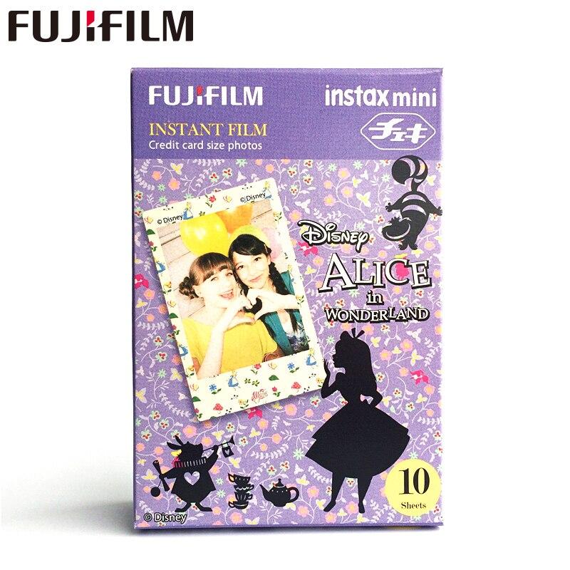 정품 Alice Fujifilm Instax Mini 8 사진 용지 후지 인스턴트 필름 (8 50s 7s 90 25) 공유 SP-1 카메라 10 매