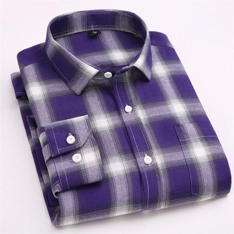 大格子紫色