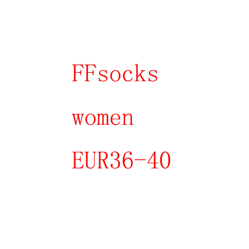 Autumn winter new   socks   Japanese cotton letter F fashion brand   socks   Fashion Soft Breathable Cotton   Socks   Funny Sox
