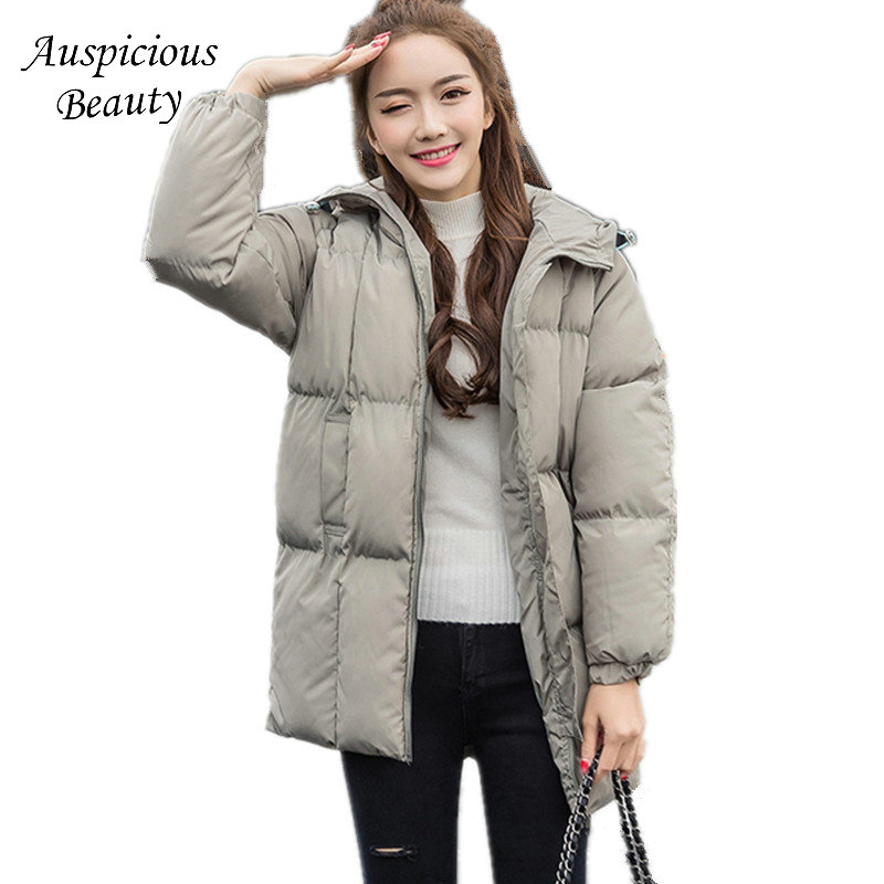 Winter Dress Women New Fashion Hooded Coat Padded Slim Women Winter Jackets Wadded Thick Winter Coat Women Coat Parkas CXM247 ...