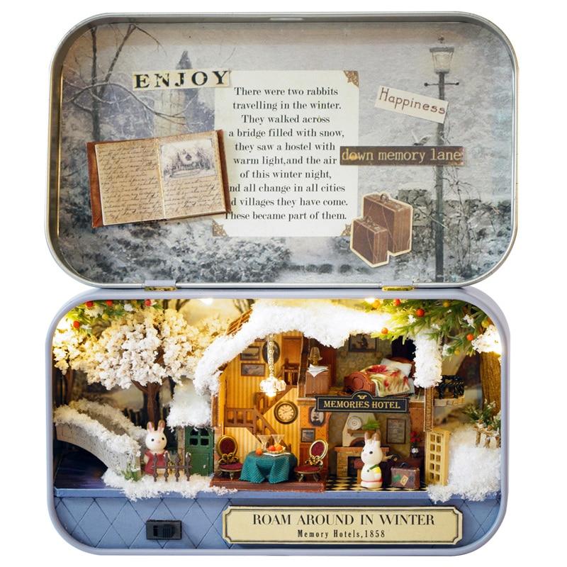 Dollhouse Miniature Set of Two Saws