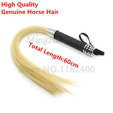 Spanking Paddle Whip-Handle Lash-Tools Flogger Slave Tail Sex-Toys Horse-Hair Couple