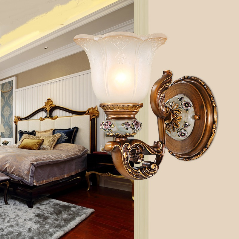 1/2 heads wall lamp bedroom creative bedside wall light modern living room balcony TV wall lighting lamps ZA9917