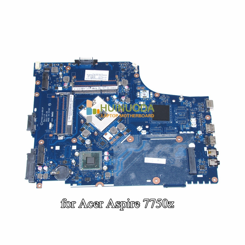 NOKOTION MBRN802001 MB.RN802.001 For Acer aspire 7750 7750Z Laptop Motherboard LA-6911P 3AMFG P7YE0 HM65 GMA HD DDR3 nokotion nbm1011002 48 4th03 021 laptop motherboard for acer aspire s3 s3 391 intel i5 2467m cpu ddr3