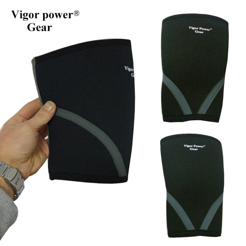 Vigor Power Gear 5 mm strength training crossfit knee sleeve VPG-WL140201 ...