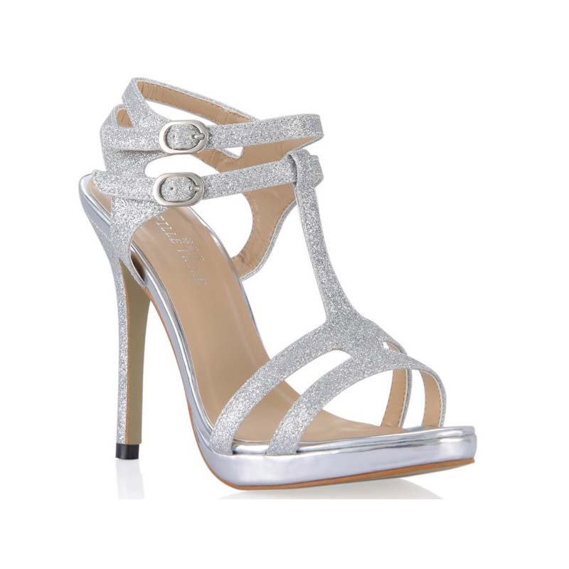 big size 35-43 fashion T-strap glittle stiletto high heel sandals double buckle platform ladies summer party wedding pumps shoes odetina 2017 new fashion peep toe t strap sandals thick high heel platform buckle ladies square heel shoes summer big size 33 43