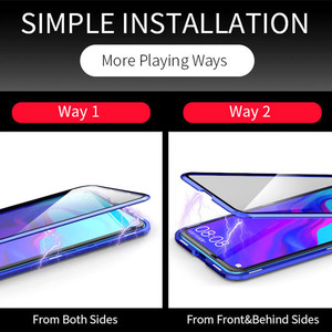 Image 5 - קדמי + אחורי דו צדדי זכוכית מקרה עבור Huawei P30 P20 פרו לייט Mate 20 כבוד V20 20i 20 פרו מגנטי מקרה נובה 5 פרו נובה 4 3i