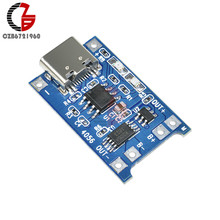 Type-C TP4056 18650 Lithium Batterij Opladen Board 5 V 1A USB Li-Ion Lithium Cell Charger Bescherming Module voor mobiele Power DIY(China)