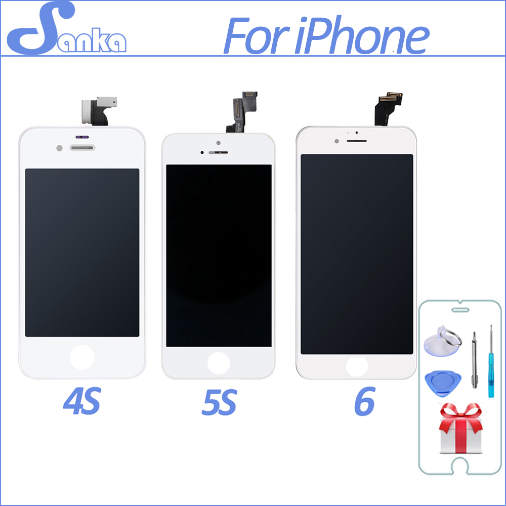 Pour Samsung J3 2016 J320 J320fn J320y J320m J320a Lcd Cran Touchscreen Galaxy J1 J120 Aaa J120g Sanka For Iphone 4 A1332 4s 5s 5c 5 6 6plus Touch Screen Display