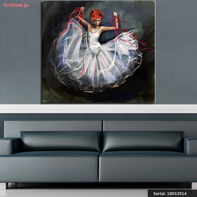 Slikarstvo Balet Mrtva priroda Sažetak ulje Slikarstvo Umjetnost - Kućni dekor - Foto 1