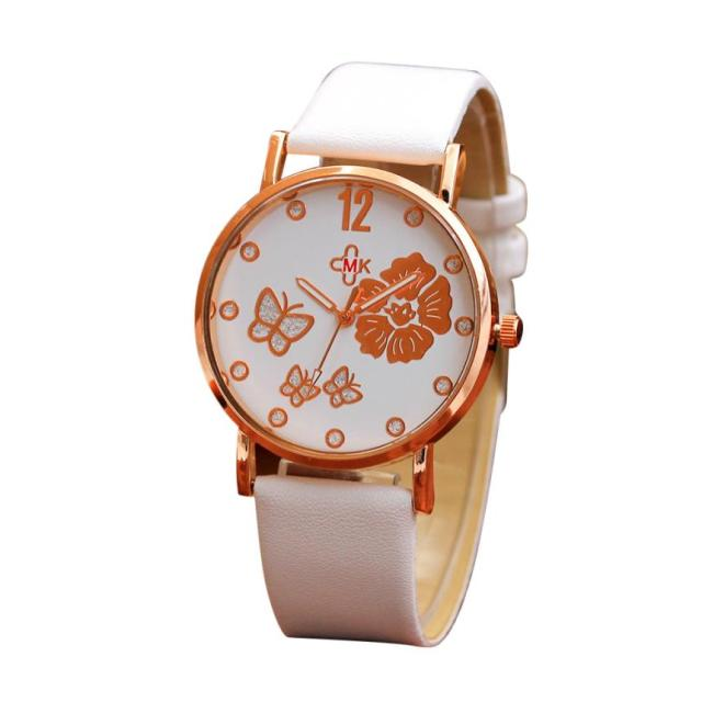 Bracelet Leather Simple Strap Watches Luxury Wrist Watches 3
