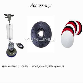 Floor Polishing Machine Push-Type Brushes Wiping Machine Polishing Floor Cleaning/Waxing Machine For Household/Hotel