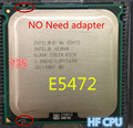 Lntel Xeon E5472 3.0 ГГц/12 М/1600 МГц/CPU равна LGA775 Core 2 Quad Q9550 ПРОЦЕССОР, работает на LGA775 платы нет необходимости адаптер