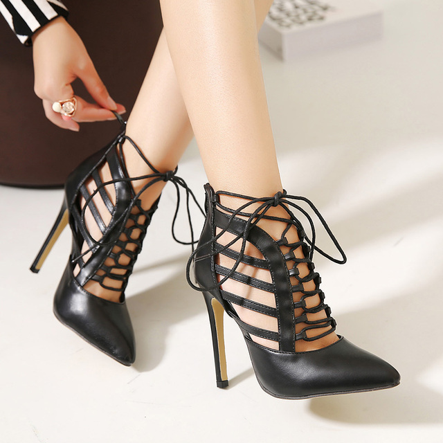 Aliexpress.com : Buy 2016 Shoes Women Spring Black Pu Leather
