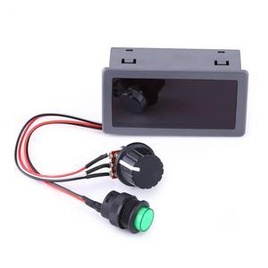 Image 2 - Silnika prądu stałego PWM Regulator prędkości 6V 12V 24V Regulator prędkości silnika cyfrowy wyświetlacz z IR pilot zdalnego sterowania