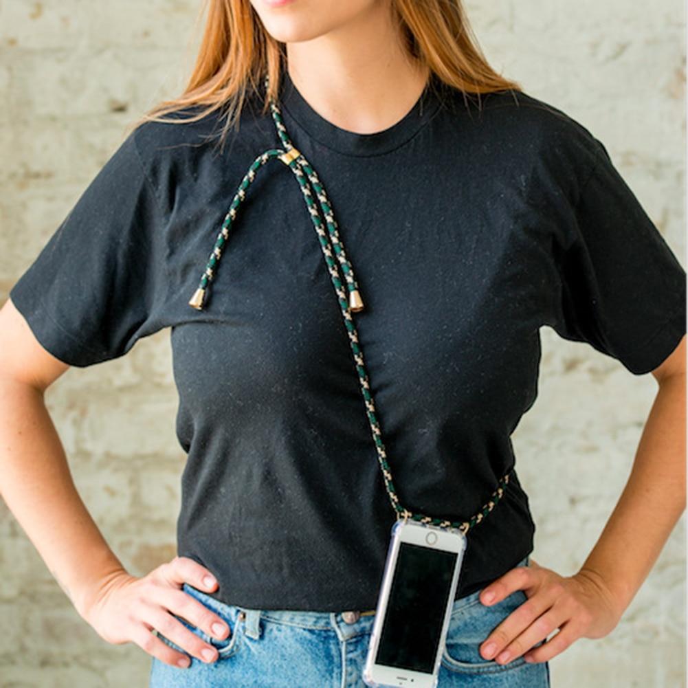 Fashion Cord Case for Phone Case Cover Crossbody with Strap long chain for iPhone 6 7 Plus 8 Plus 5 5S SE XR XS MAX X XS case herramientas para el aseo de la casa