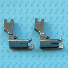 Hinged Right Raising Presser Foot With Guide for Top-Stitch #12463H 3/8 (2PCS)