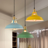Multi kleur kroonluchter Bar Keuken eetkamer armatuur suspendu vintage Loft Inudstrial Decor E27 Lamp lustre suspension lamp
