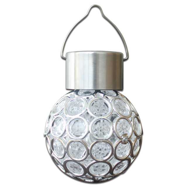 Outdoor Solar Led Landscape Lamp Courtyard Garden Light Pea Eye Shaped Colorful Hanging