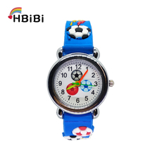 Outdoor sports football watch children soccer Kids Watches For Baby Girls Boys Clock Child Quartz Wristwatches