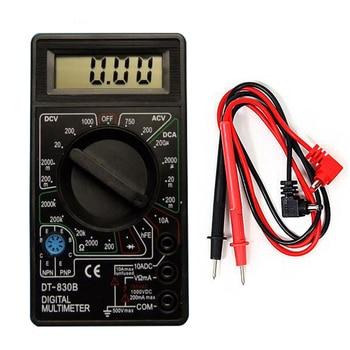 New Mini Digital Multimeter AC / DC Voltmeter Ammeter Ohm meter Portable Multimeter Tester DT-830B Multimeters