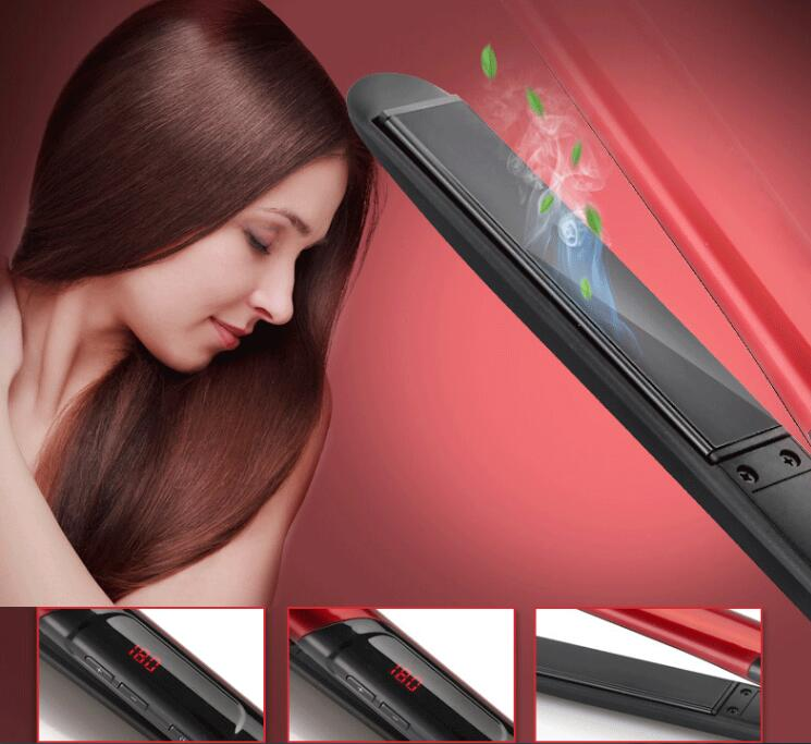 Personal Care Appliances Gustala New Professional Hair Straightener Led Display Flat Iron Straightening Irons Planchas Straight Hairstyle Styling Tools