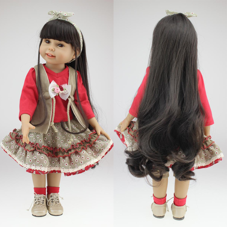 Detail Feedback Questions About Free Shipping Gift 18 45cm Girl