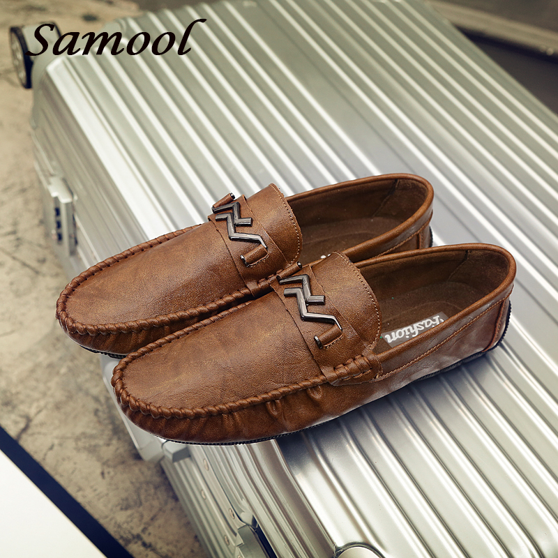 Men Flat Shoes Quality Leather Men Business Black Breathable Slip-On Mocassins Outdoor male Driving Shoes men chaussure homme G3 mapleliz brand breathable slip on solid moccasins shoes for men full grain leather high quality driving soft flat men shoes