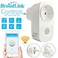 Broadlink casa inteligente 16a + temporizador ee.uu. ue wifi enchufe del zócalo outlet controles de automatización inalámbrica teléfono inteligente para ios cojín androide