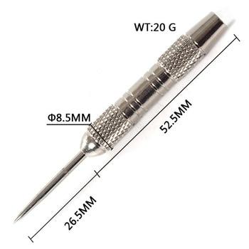 CUESOUL 19 Gram 90% Tungsten Steel Darts Barrels with Diameters 7mm