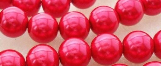 Оптовая продажа 6 мм 100 шт. Белый Черный Круглый Стекло ** имитация жемчуга Бусины Акриловые Spacer мяч круглый Бусины