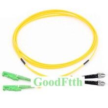Cable de conexión ST E2000/APC E2000/APC ST/UPC SM GoodFtth dúplex 100 500m