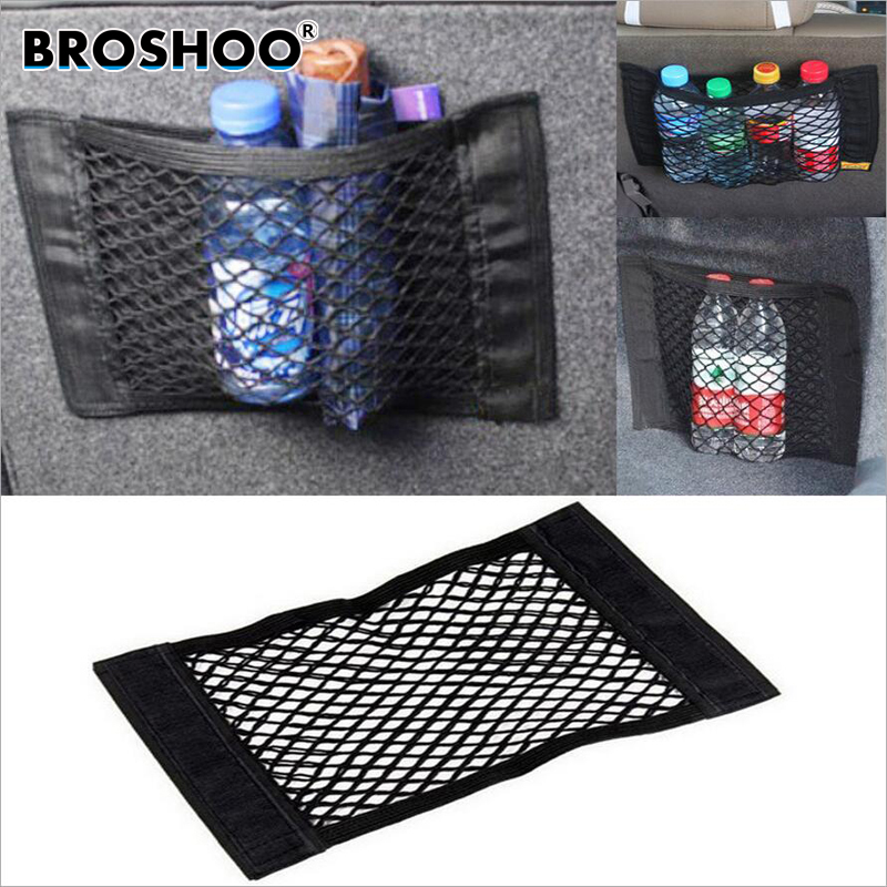 BROSHOO Car Styling Auto Accessories Car Trunk Car Boot Cargo Net Magic Sticker Luggage For All