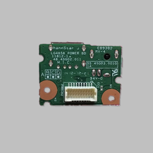 DC Power Jack And USB Port Board For Lenovo G480 G485 G580 Laptop Parts LG4858 48.4SG02.011 55.4SG03.001G
