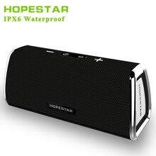 HOPESTAR Wireless Waterproof IPX6 Bluetooth Speaker Power Bank for Home TV speakers Portable Soundbar Speaker Box Bass USB AUX