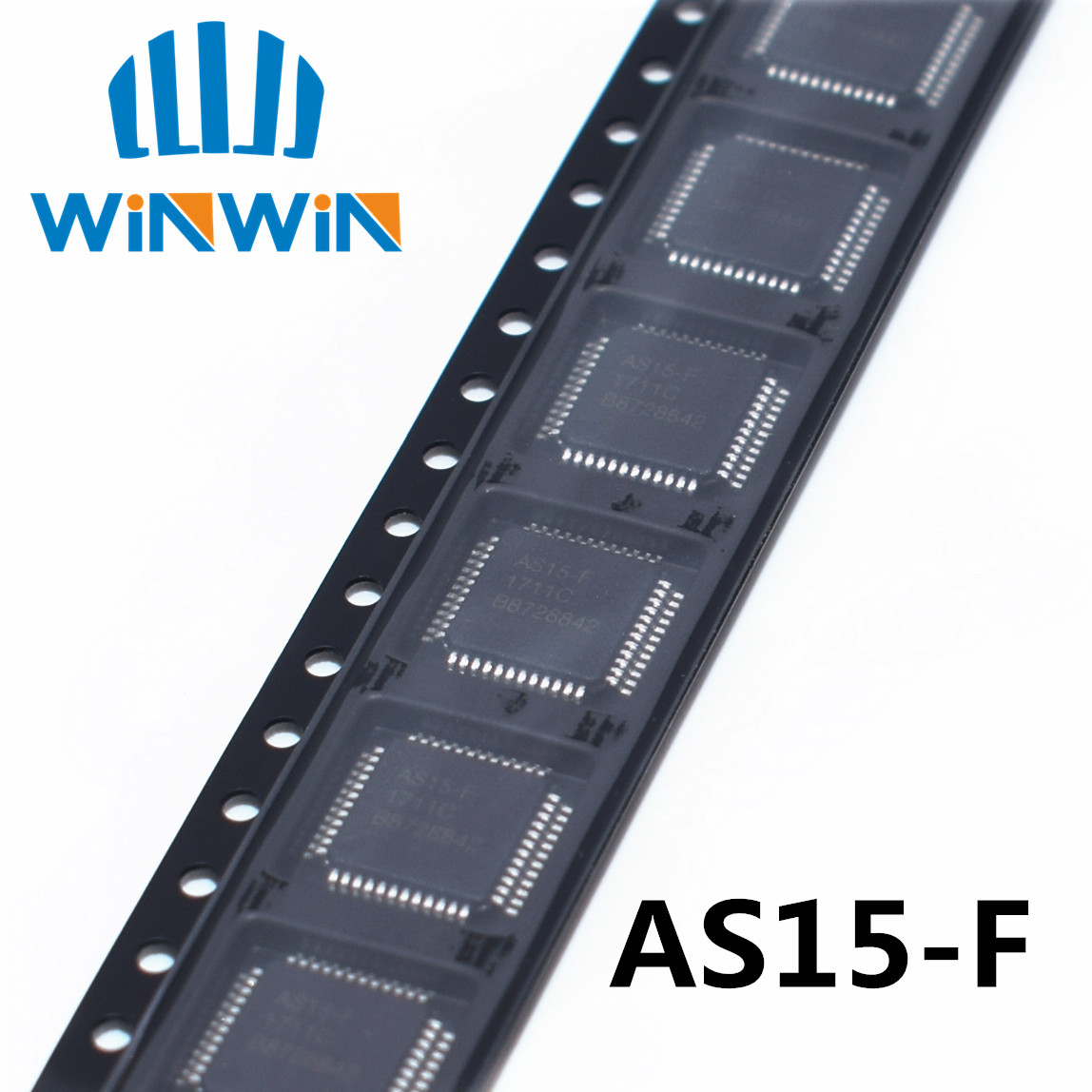 5PCS/LOT AS15-F AS15F AS15-G AS15G QFP48 AS15 Original LCD Chip E-CMOS