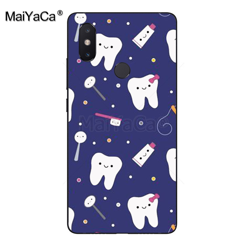 Latest Collection Of Maiyaca Cartoon Tooth Nurse Doctor Dentist Stethoscope Phone Case For Xiaomi Mi 8se 6 Note2 Note3 Redmi 5 Plus Note4 5 Cover Phone Bags & Cases