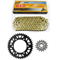 MOTORCYCLE 520 CHAIN Front & Rear SPROCKET Kit Set FOR Kawasaki Road ZR400,GPZ400R,GPZ400S,ER500,ER-5,EX500,GPZ500,ZR550