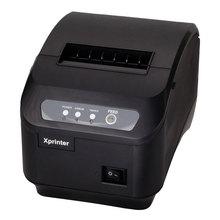 Бесплатная доставка 200 мм/сек. термопринтер 80 мм POS принтер Кухня принтер Автообрезки принтер с USB + Последовательный/Lan Порт XP-Q200II