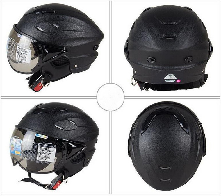 2017 New ZEUS half face motorcycle helmet half-covered four seasons retro electric bike helmets anti-UV ZS-125B for men women шатура пуф бегемот мини zeus 158 202