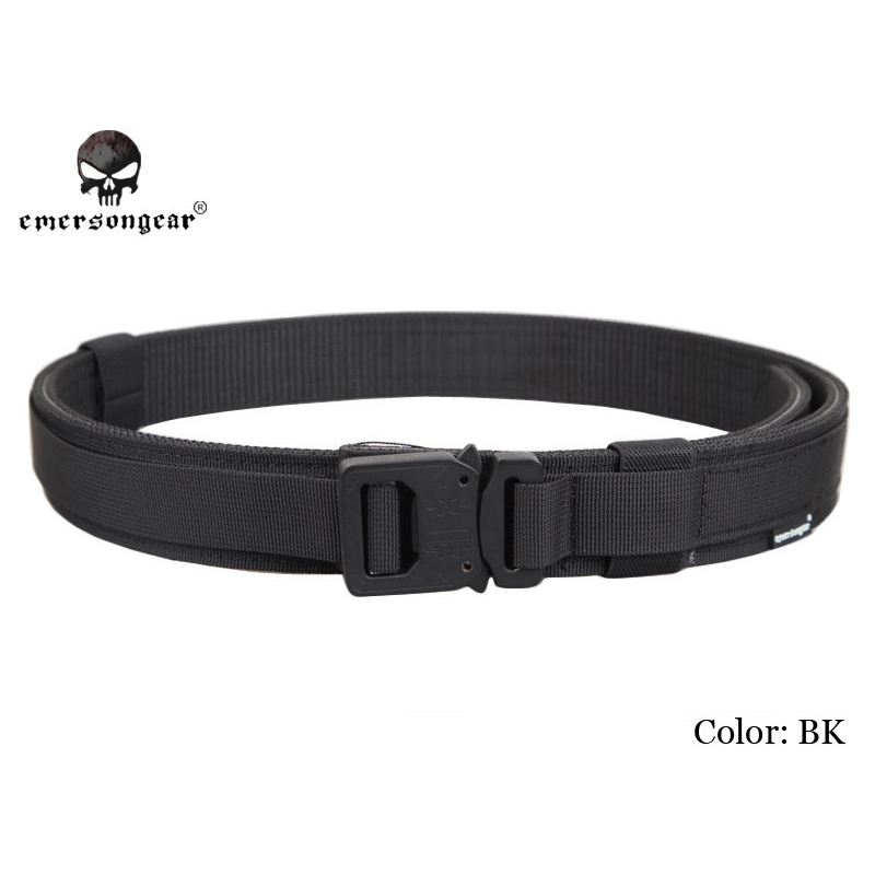 EMERSON Hard 1.5 Inch Tactical Shooter Belt Military Army Belt L Size For Outdoor Hunting Wargame Airsoft Waist Support EM9250