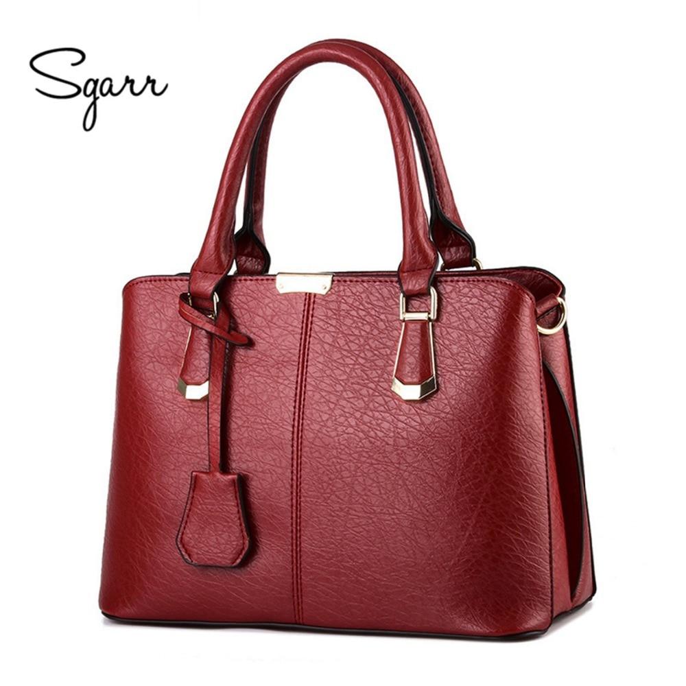 SGARR 2017 New Women's handbag stone pattern with Zipper bag messenger bags hot-selling of fashion handbags all colors women bag